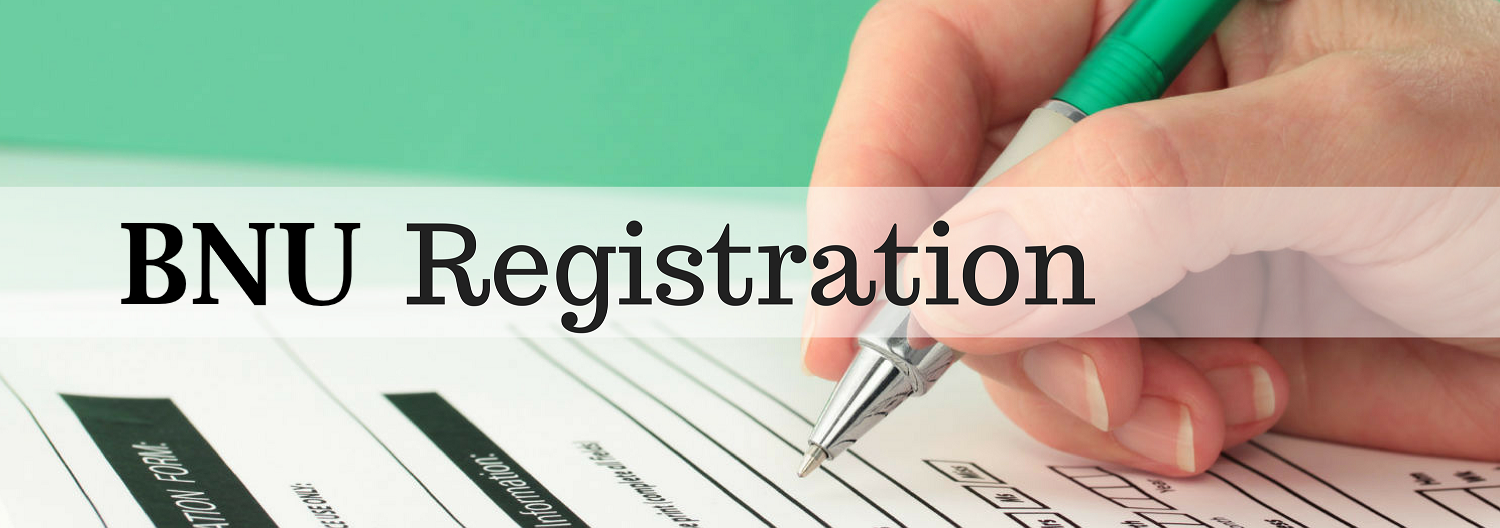 BNU Registration